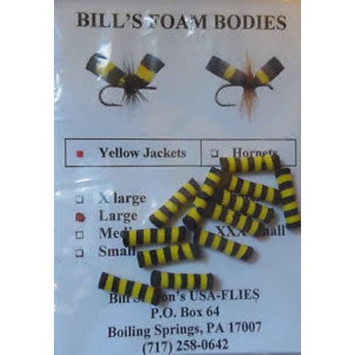 """Bill Skilton""""USA Flies Bill's Foam Bodies"""