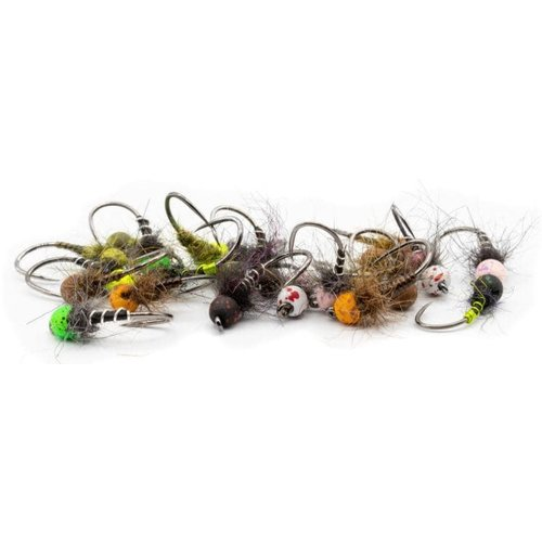 Firehole Outdoors Firehole Speckled Tungsten Slotted Beads