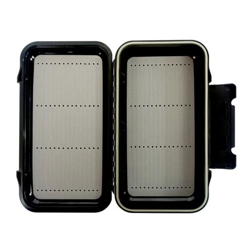 Precision Fly Fishing Precision CFL Water Proof Fly Box with Sloted Foam