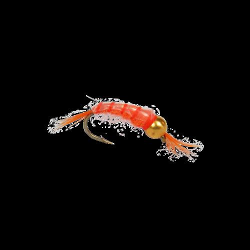 Scud-Orange Bead Head