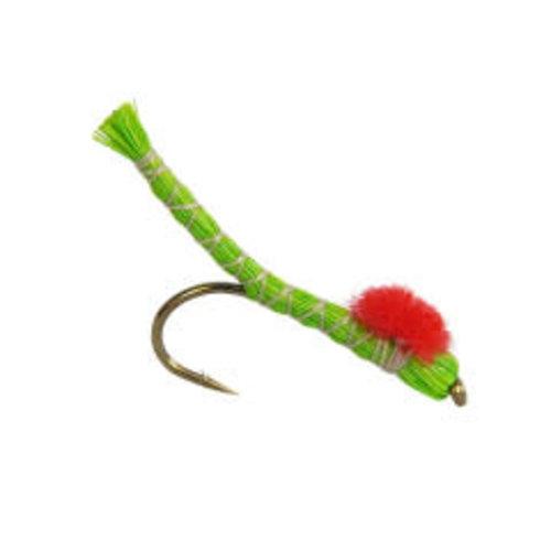 Green Inch Worm-Deer Hair