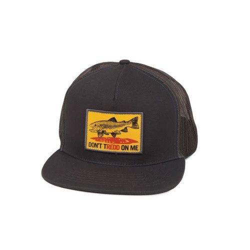 Fishpond Fishpond Don't Tredd Hat - Charcoal/Slate
