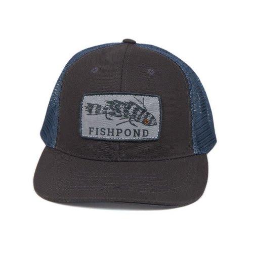 Fishpond Fishpond Meathead Hat- Charcoal/Slate