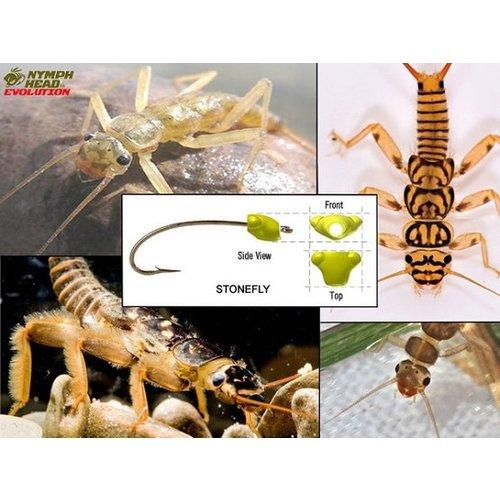 Nymph-Head Nymph-Head® Evolution™ Stonefly Tungsten Beadheads