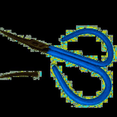 Wapsi Anvil Midge Scissors, Curved