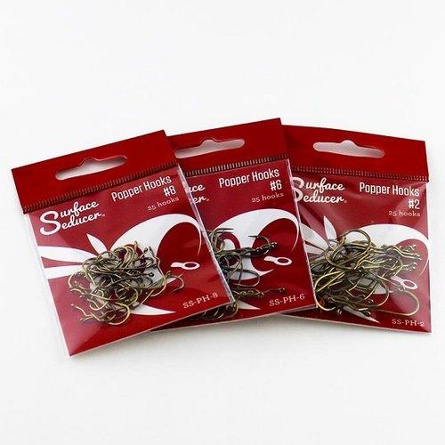 Surface Seducer Surface Seducer® Popper Hooks