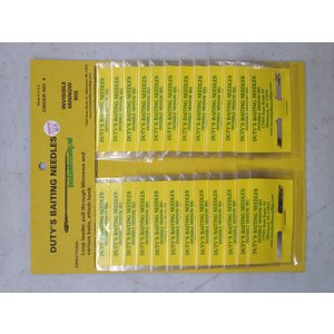 "Duty's Duty's #4A 2-1/2"" Baiting Needles"