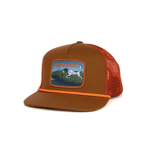 Fishpond Fishpond On Point Trucker Hat - Sandbar/Orange