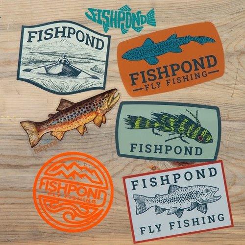 Fishpond Fishpond Freshwater Sticker Bundle