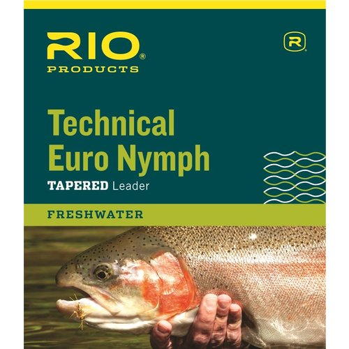 RIO Products RIO Technical Euro Nymph Leader W/ Tippet Ring