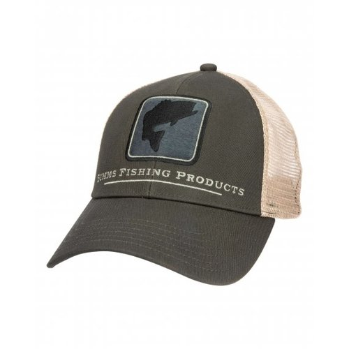 Simms Fishing Products Simms Bass Icon Trucker Hat - Foliage