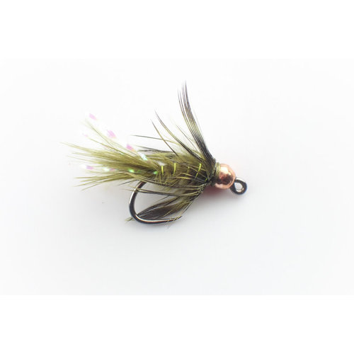 Holly Flies Olive Bugger Jig