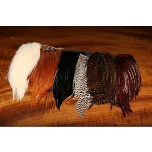 Hareline Bugger Hackle Patches