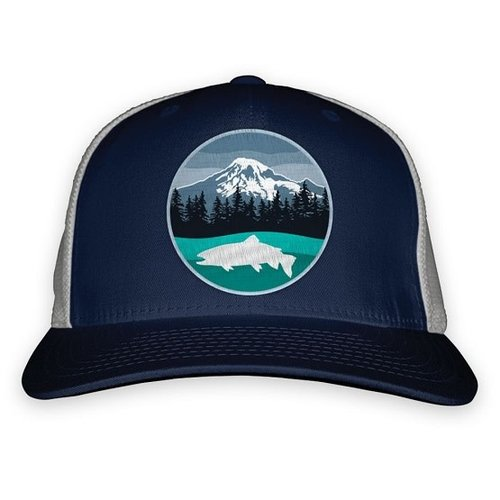 RepYourWater RepYourWater Volcanic Trout Low Profile Hat