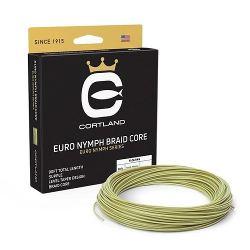 Cortland Line Company Cortland Euro Nymph Braid Core Fly Line