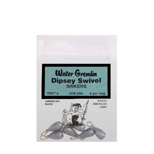 Water Gremiln Water Gremlin Dipsey Swivel Casting Weight