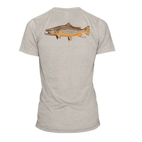 RepYourWater Artists Reserve Brown Trout Tee