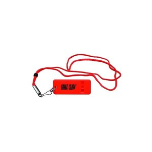 Eagle Claw Eagle Claw Flat Flourescent Orange Boat Whistle With Lanyard