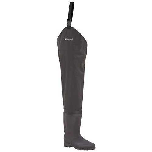 Frogg Toggs Men's Rana II Bootfoot PVC Cleated Hip Waders