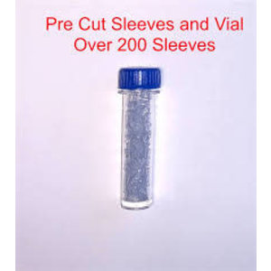 Strike Indicator New Zealand Strike Indicator Pre-Cut Sleeves and Vial