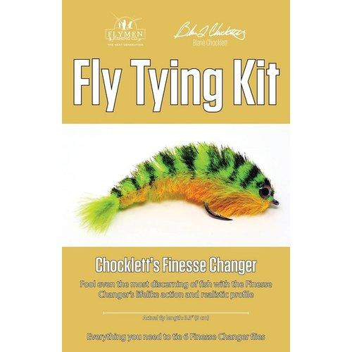 flymen Chocklett's Finesse Changer Fly Tying Kit