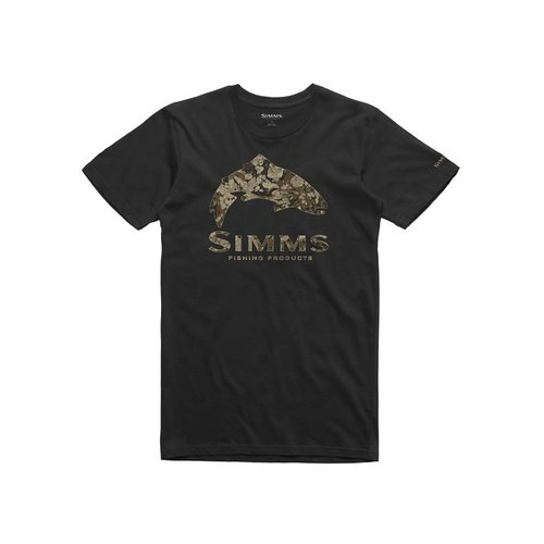 Simms Fishing Products M's Trout Riparian Camo T-Shirt