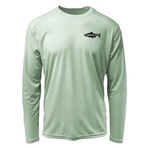 RepYourWater Rising Brown Trout Sun Shirt