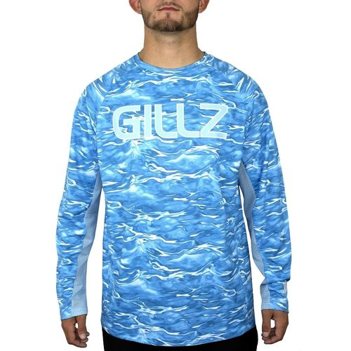 Gillz Men's LS UV Tournament Series V3 Shirt