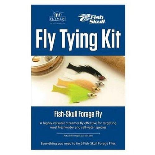 Fish-Skull Fish Skull Forage Fly Tying Kit