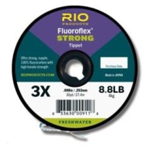 RIO Products Fluoroflex Strong Tippet (30yd Spool)