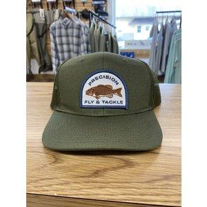 Precision Fly Fishing Precision Smallmouth Olive Trucker Hat