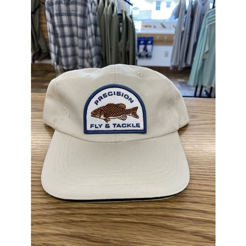 Precision Fly Fishing Precision Smallmouth Unstructured Khaki Hat