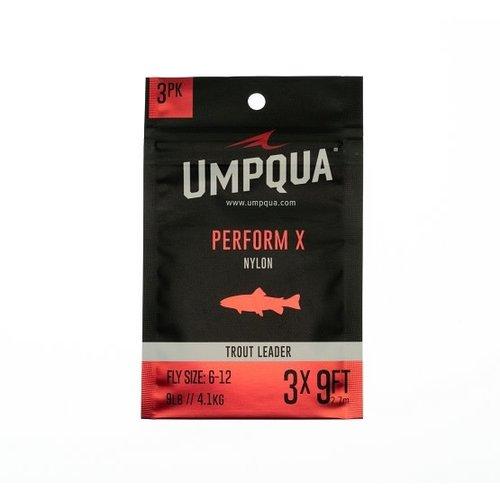 umpqua Perform X Trout Leader 3-Pack