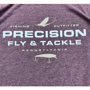 Precision Fly Fishing Precision Rose Fleck Tee
