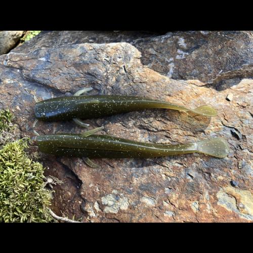 "River Rock Custom Baits River Rock 5"" Stone Cat (5 Pack)"