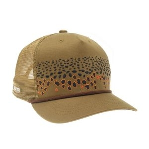 RepYourWater RepYourWater Brown Trout Skin 2.0 5-Panel Hat