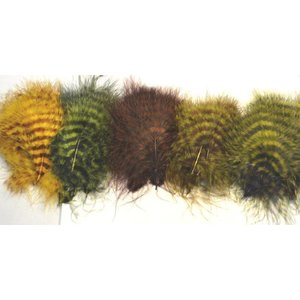 Montana Fly Company MFC Barred Marabou Blood Quill