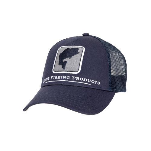Simms Fishing Bass Icon Trucker Hat