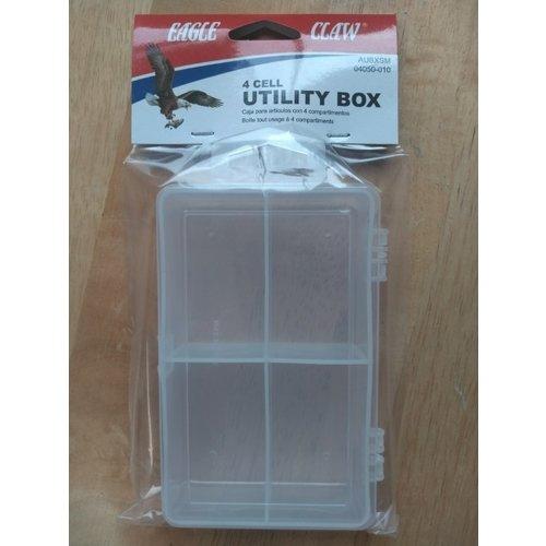 Eagle Claw Eagle Claw 4-Cell Utiltity Box