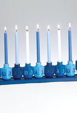 Menorah, Blue Dreidel