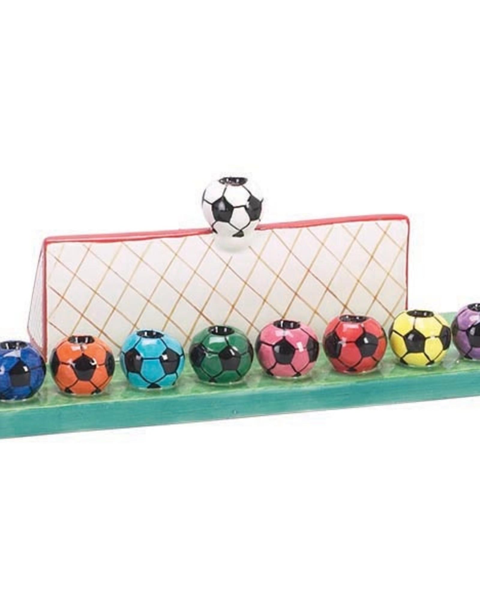 Menorah, Soccer Ceramic