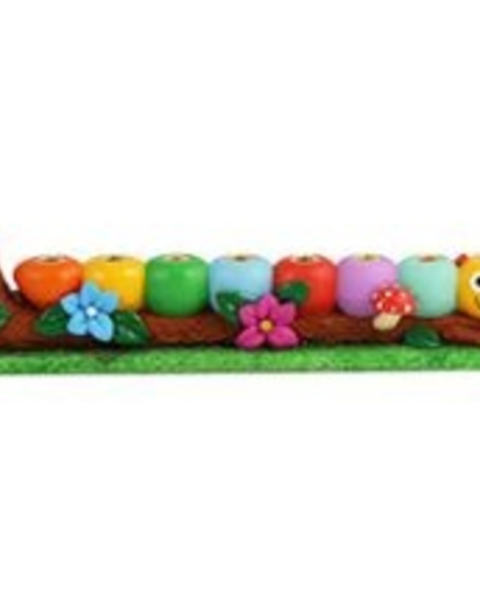 Menorah, Caterpillar Polyresin