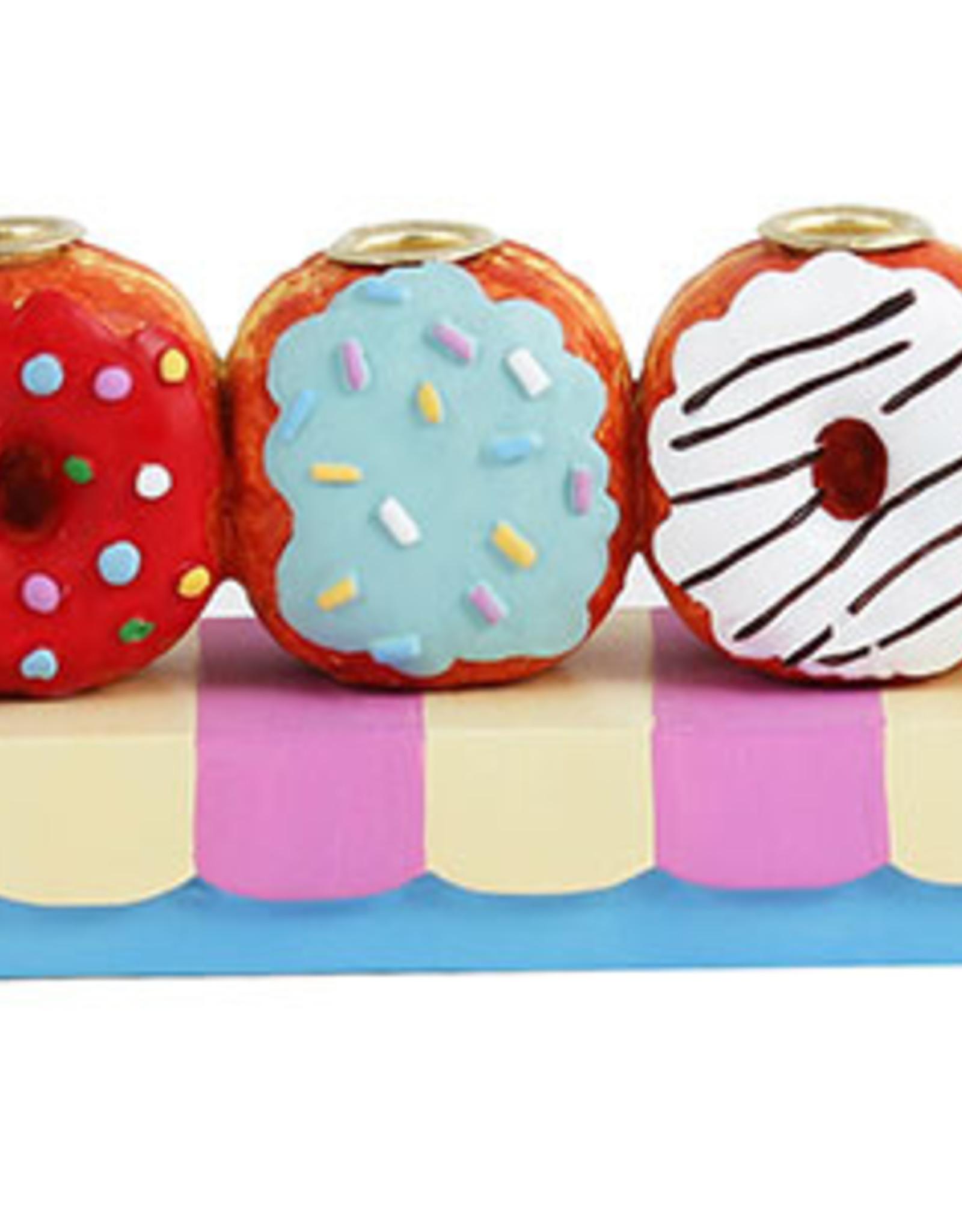 Menorah, Poly Resin Doughnut