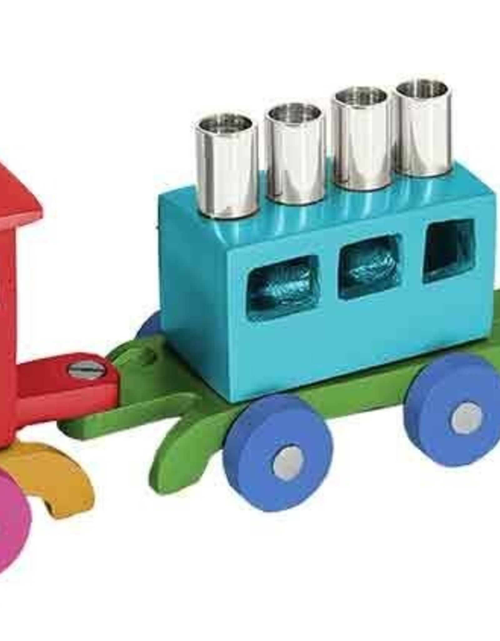 Menorah, Train -Multi Color