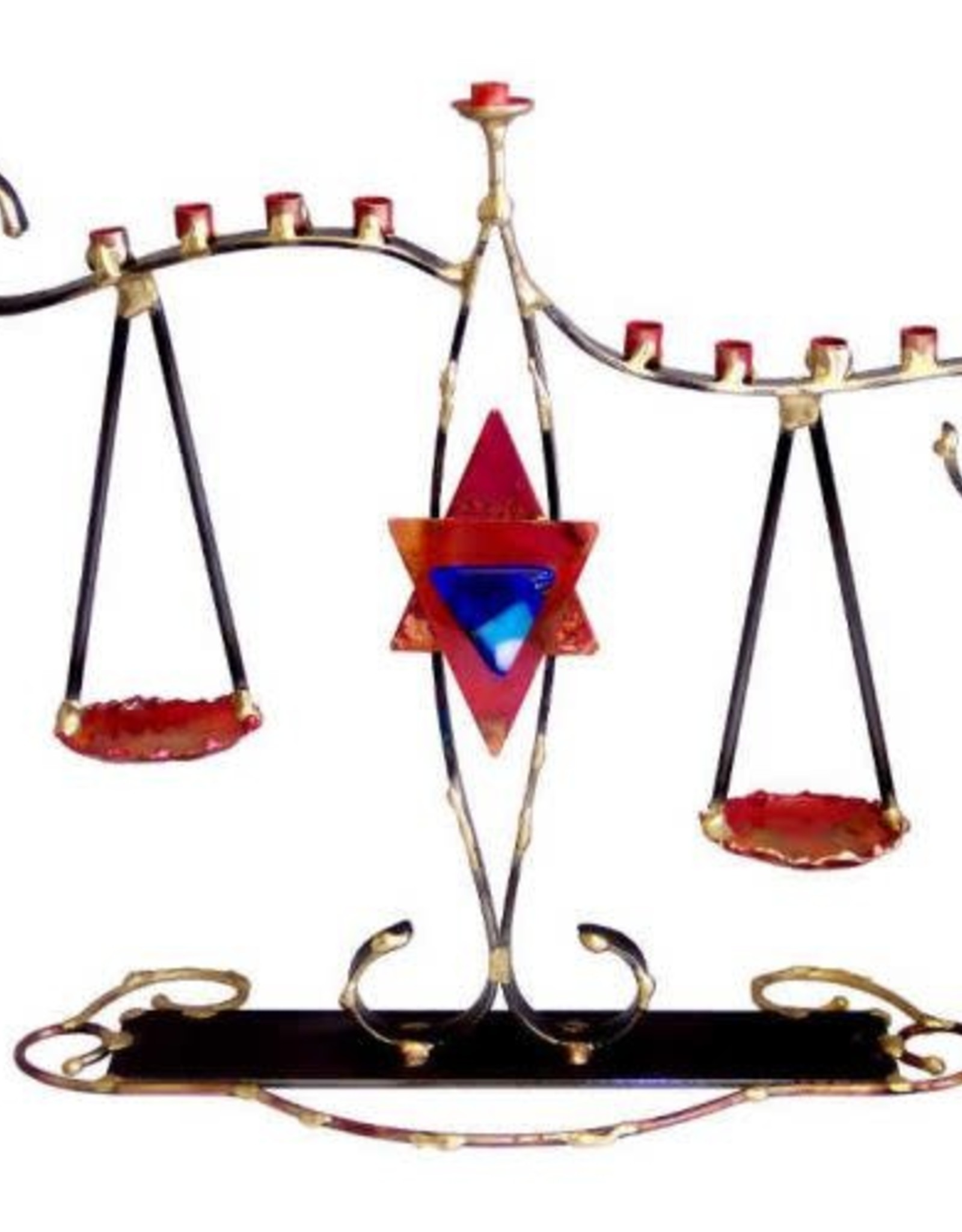 Menorah, Scales of Justice