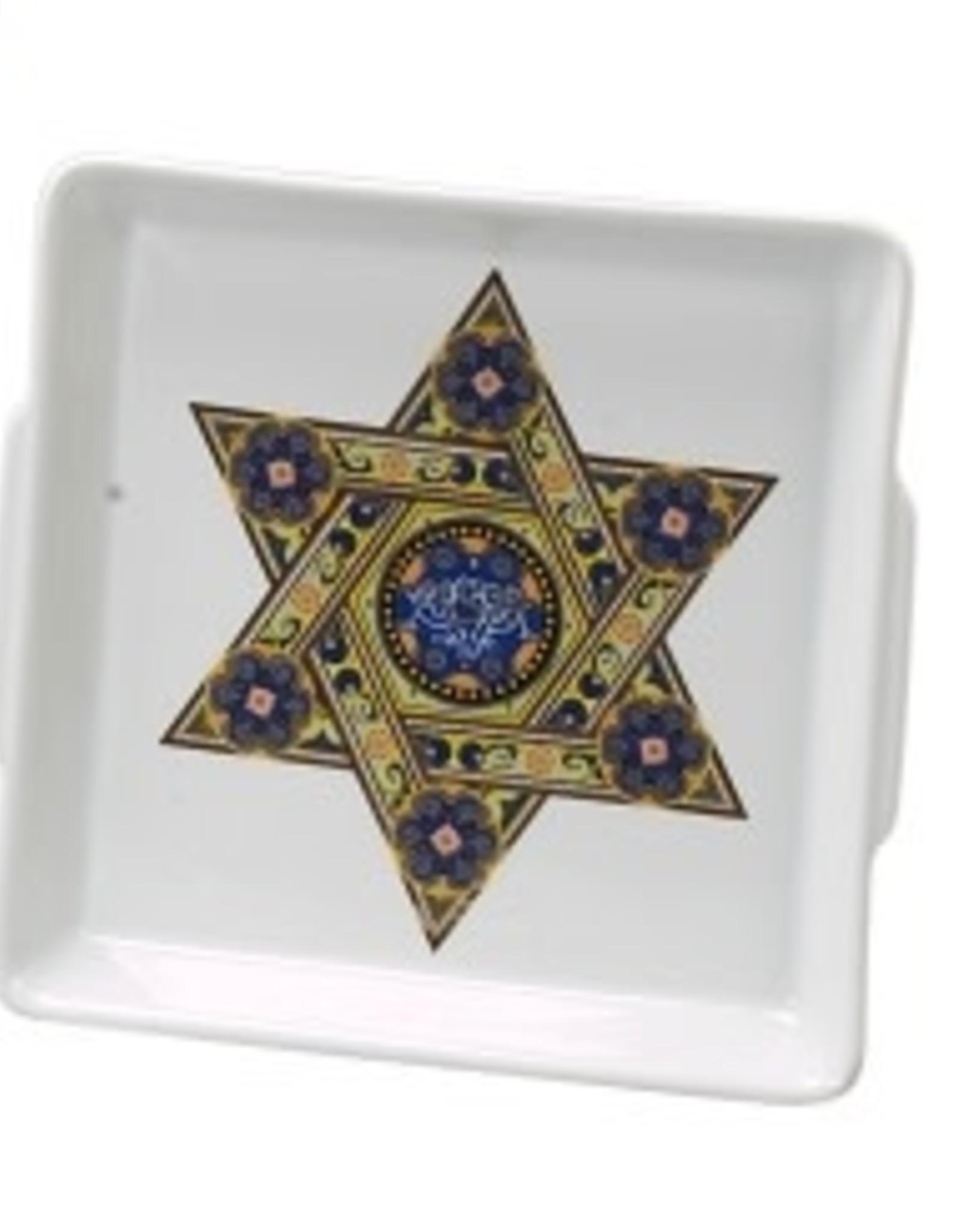 Matzah Plate, Star multi