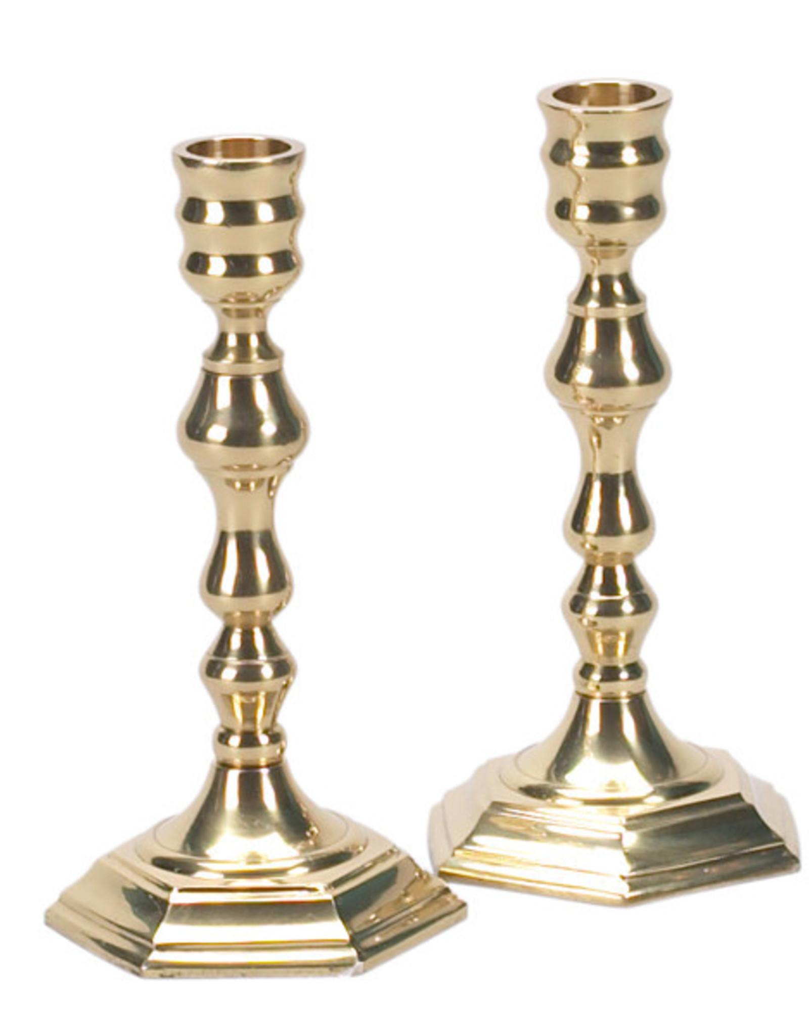 Candleholder, Heavy Brass PR