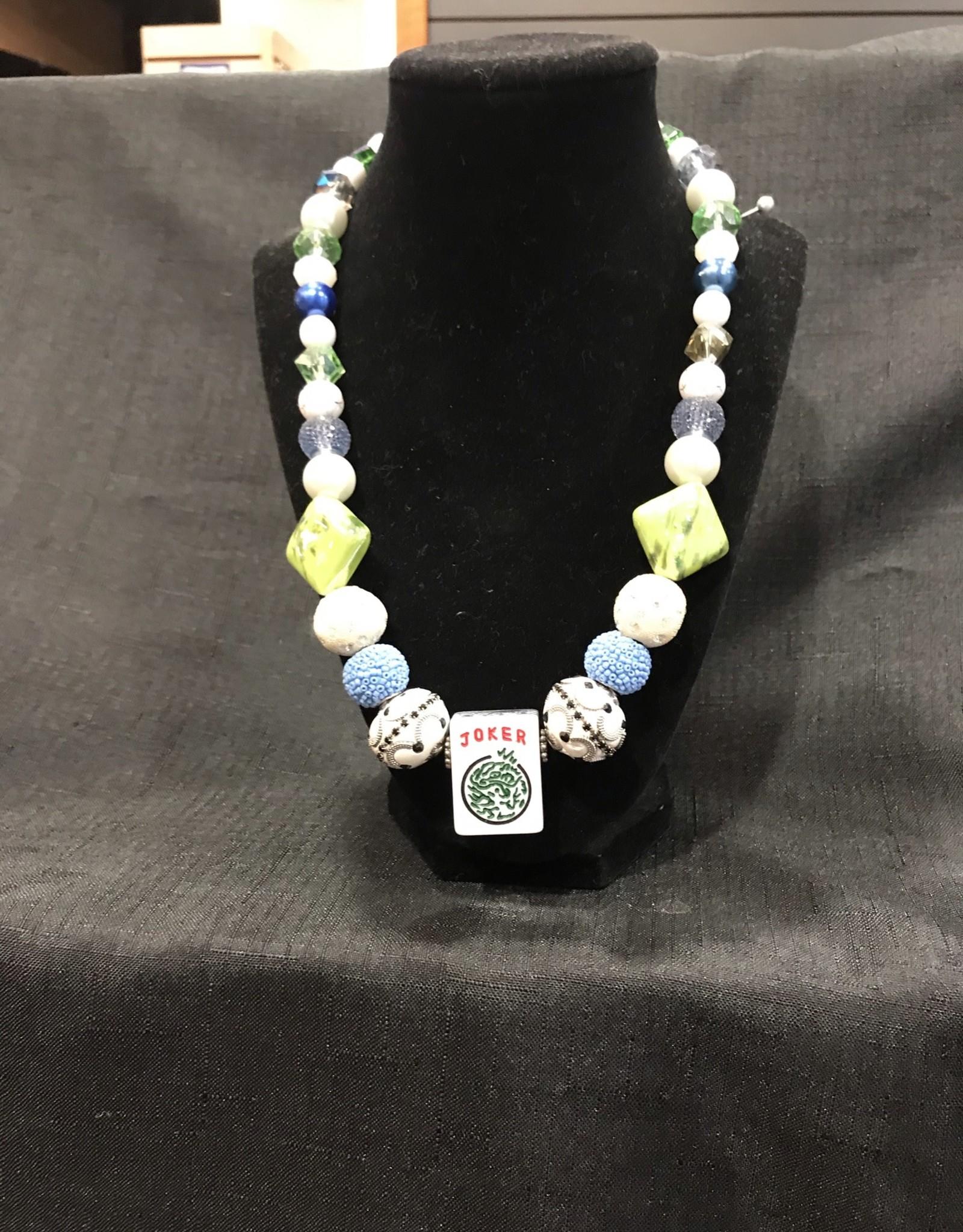 Mah Jong necklace - multi