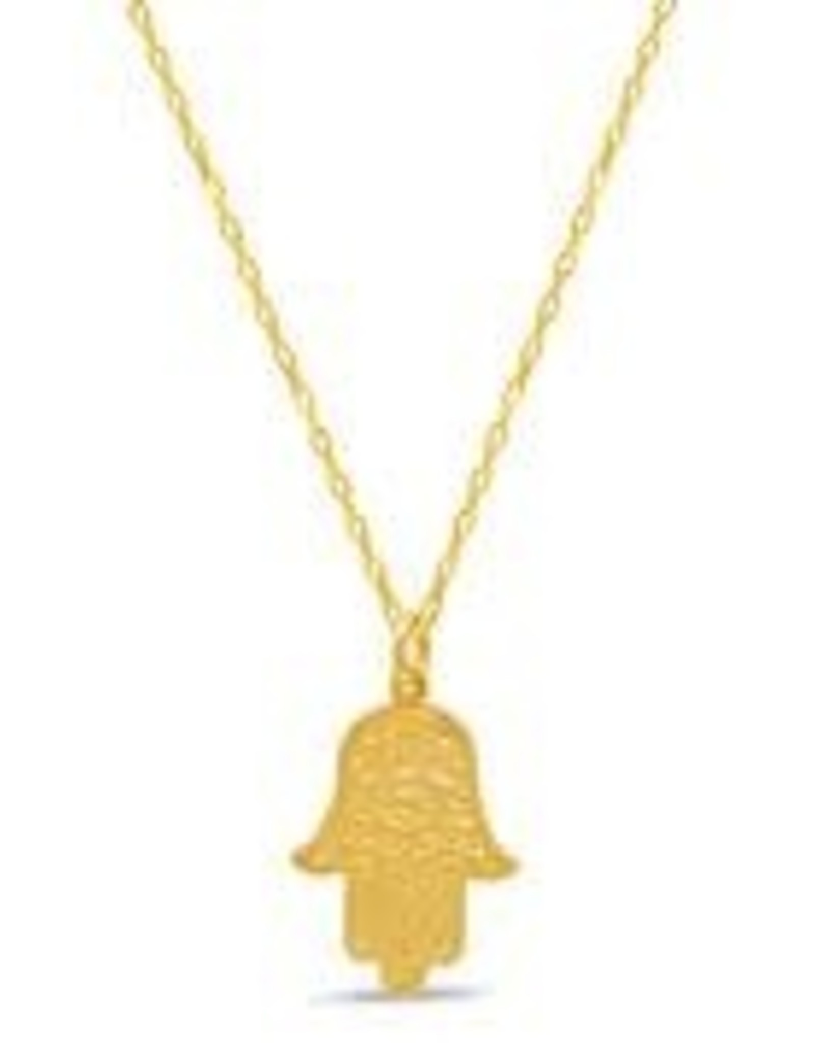 Necklace, Hamsa double-sided