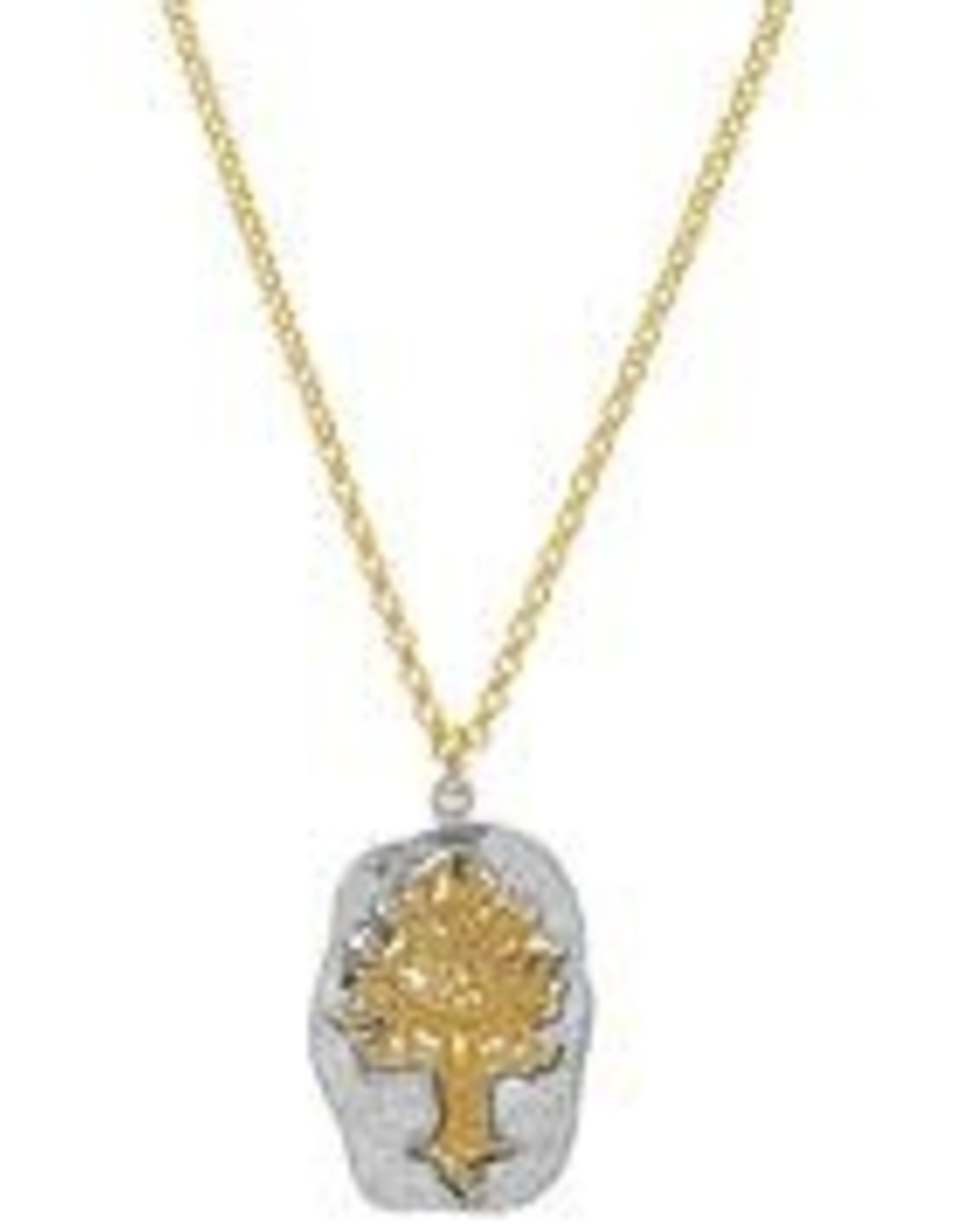 pendant Tree of Life with gold chain
